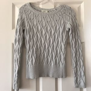 LOFT Cable Sweater